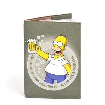 купить Обложка на паспорт Гомер Симпсон цена, отзывы
