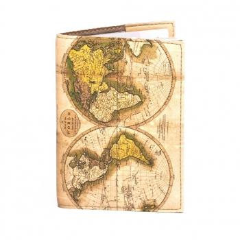 купить Обложка на паспорт Карта мира цена, отзывы