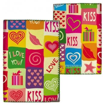 купить Обложка на паспорт Kiss цена, отзывы