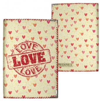 купить Обложка на паспорт Love цена, отзывы