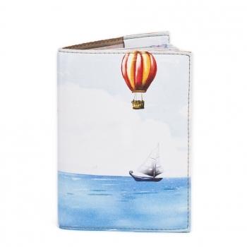купить Обложка на паспорт На воздушном шаре цена, отзывы