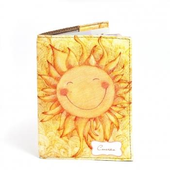 купить Обложка на паспорт Солнышко цена, отзывы