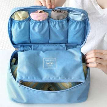купить Органайзер для белья Monopoly Travel underwear pouch голубой цена, отзывы