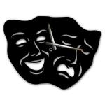 купить Оригинальные настенные часы Masks цена, отзывы
