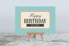 купить Открытка Happy Birthday цена, отзывы