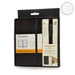 купить Подарочный набор Moleskine блокнот карманный + ручка цена, отзывы
