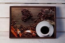 купить Поднос с подушкой Кофе Love цена, отзывы