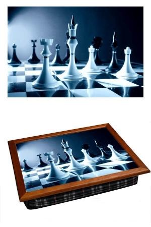 купить Поднос с подушкой Шахматы цена, отзывы