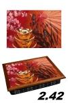 купить Поднос с подушкой цветок сакуры цена, отзывы