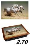 купить Поднос с подушкой пара лошадей цена, отзывы