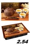 купить Поднос с подушкой вкусный чай цена, отзывы