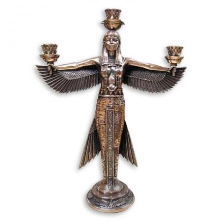 купить Подсвечник богиня Маат - символ справедливости цена, отзывы