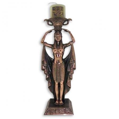 купить Подсвечник египтянка цена, отзывы