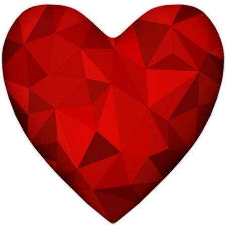 купить Подушка-сердце 3D цена, отзывы