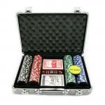 купить Покерный набор в Металическом кейсе 200 фишек цена, отзывы