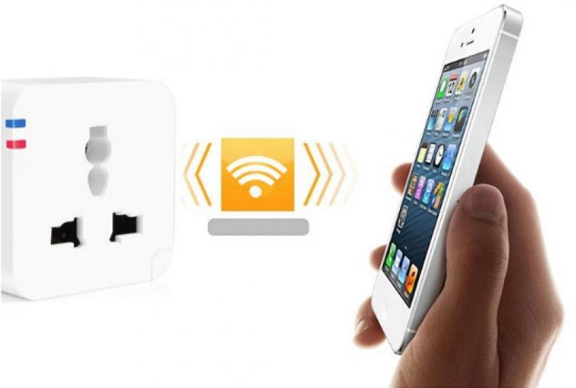 купить Розетка с wi-fi управлением цена, отзывы