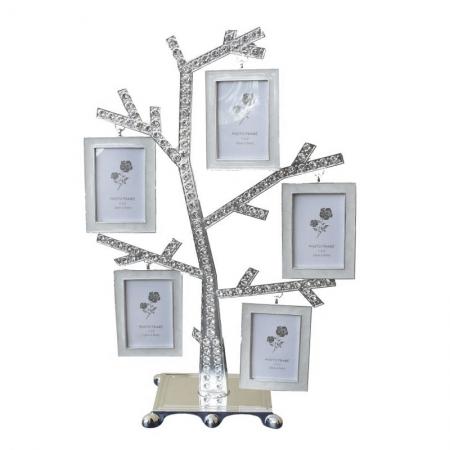 купить Семейное дерево с фоторамки на 5 фото цена, отзывы