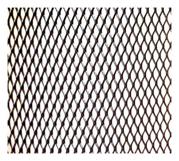 купить Сетка декоративная алюминиевая 7мм х10мм. цена, отзывы