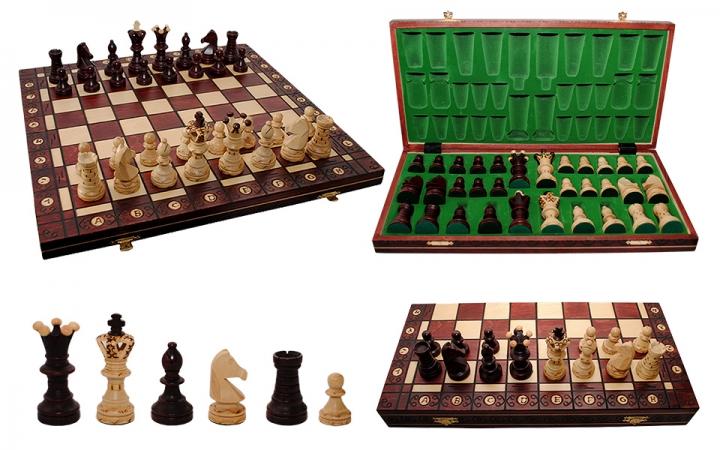 купить Шахматы Ambassador Махагон цена, отзывы