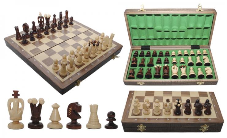 купить Шахматы MEDIUM KINGS Intarsia цена, отзывы