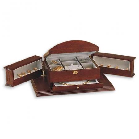 купить Шкатулка-комод деревянная коричневая цена, отзывы