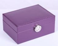 купить Шкатулка для украшений фиолетовая осень цена, отзывы