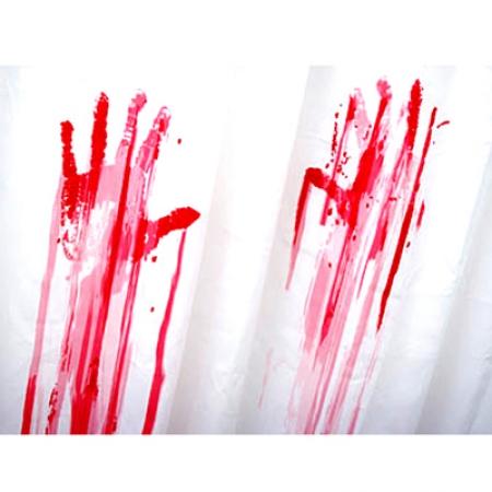 купить Шторка для ванной Фильм ужасов цена, отзывы