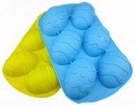 купить Силиконовые формы Лист на 6 яиц цена, отзывы