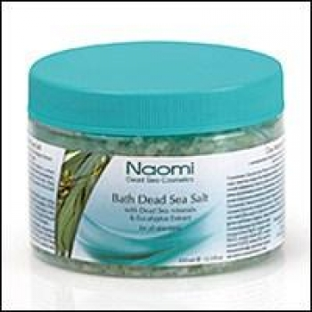 купить Соль Мертвого моря с экстрактом эвкалипта 350 мл цена, отзывы