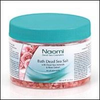 купить Соль Мертвого моря с экстрактом розы 350 мл цена, отзывы