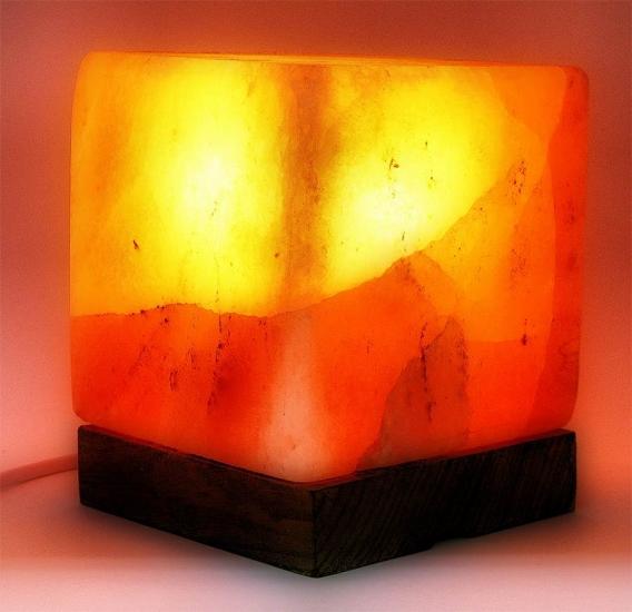 купить Соляная лампа (16см) КУБ цена, отзывы