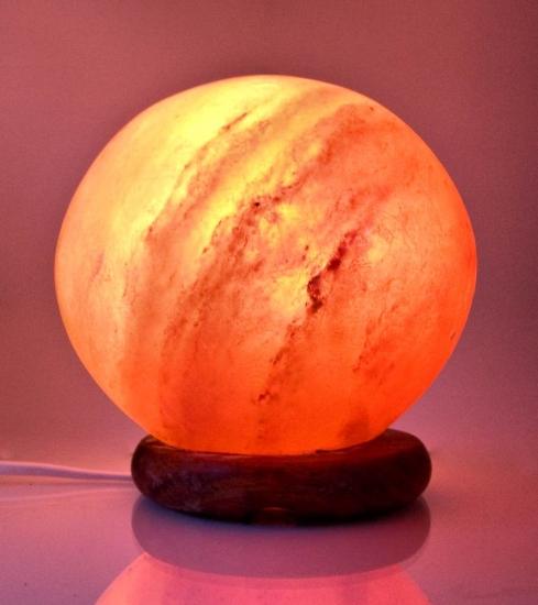 купить Соляная лампа ШАР 14 см цена, отзывы