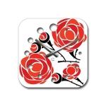 купить Современные настенные часы  Rose цена, отзывы