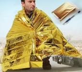 купить Спасательное одеяло от холода и жары Rettungsdecke цена, отзывы