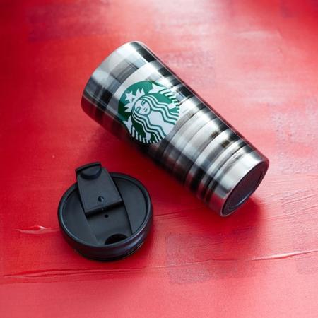 купить Стальная термокружка Starbucks -Зебра цена, отзывы