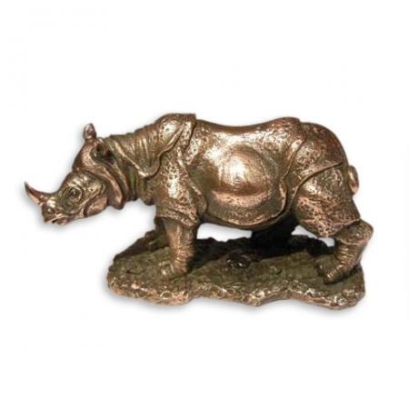 купить Статуэтка Носорог маленькая цена, отзывы