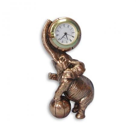 купить Статуэтка  слон + часы цена, отзывы