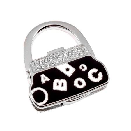 купить Сумкодержатель сумочка черная  буквы  цена, отзывы