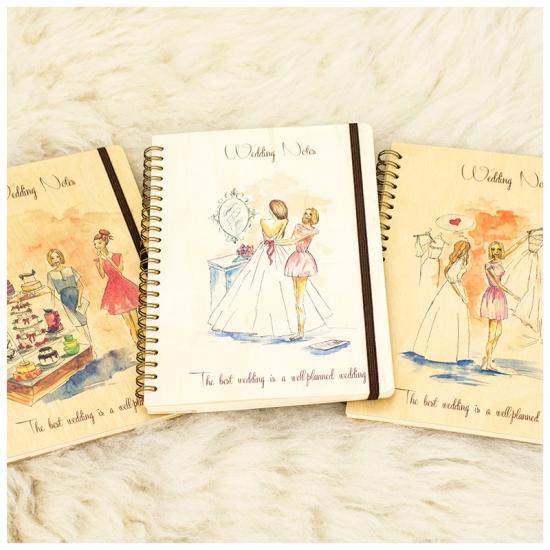купить Свадебный блокнот в стиле Рустик цена, отзывы