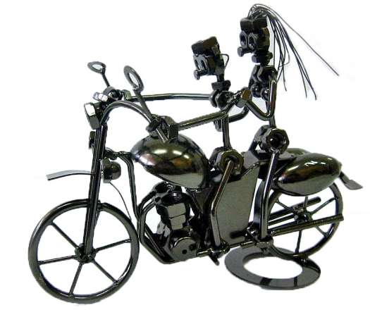 купить Техно арт Байкеры металл 22.5Х28Х15 см цена, отзывы
