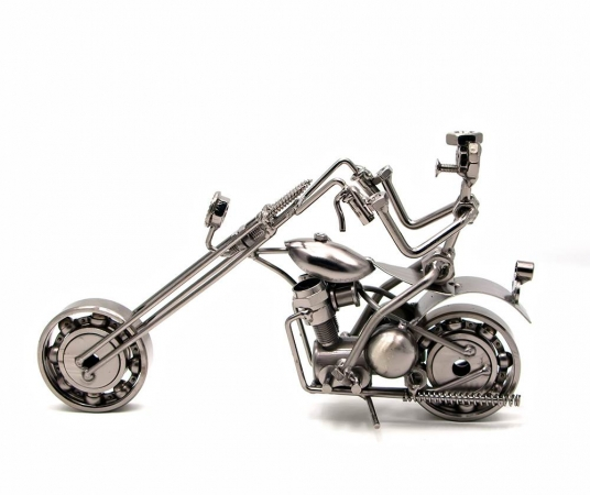 купить Техно арт байкер металл 22,5Х13Х6 см цена, отзывы