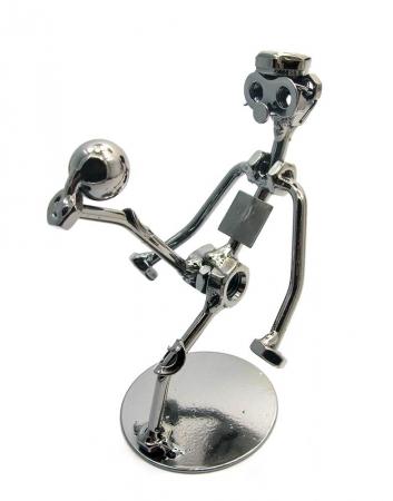 купить Техно арт футболист металл 14,5 Х 10,5Х9,5 см цена, отзывы