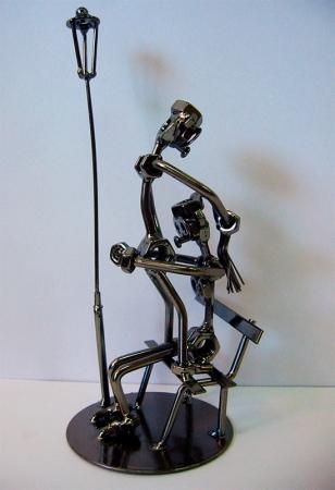купить Техно арт любовь в парке металл 27,5Х11Х11 см цена, отзывы