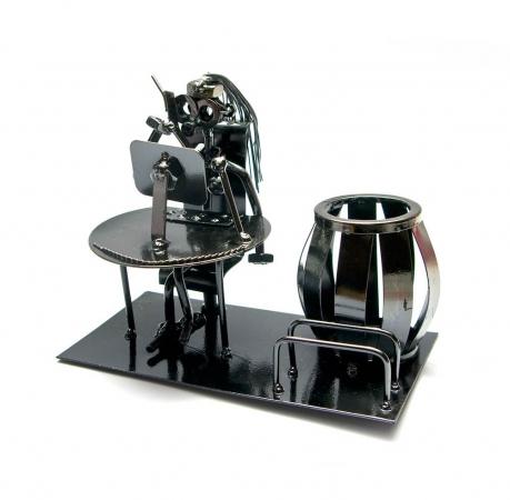 купить Техно арт подставка для ручек секретарша металл 26Х11Х8 см цена, отзывы