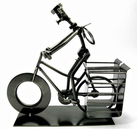 купить Техно арт подставка для ручек велосипедист металл 19Х21Х7,5 см цена, отзывы