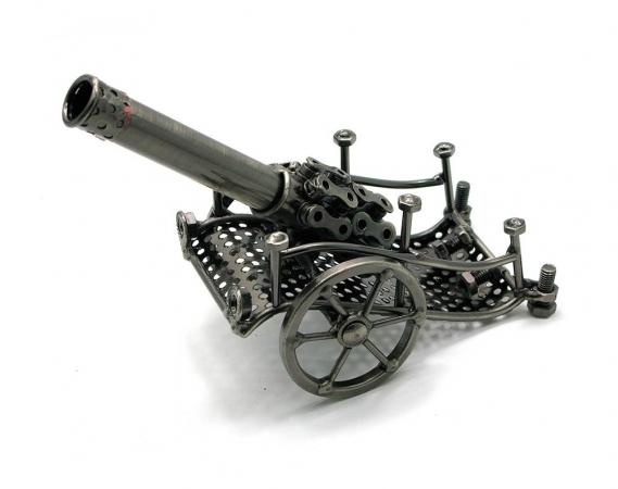 купить Техно арт пушка металл 19,5Х13Х8 см цена, отзывы