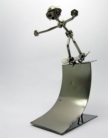 купить Техно арт скейтбордист металл 26Х13Х13 см цена, отзывы