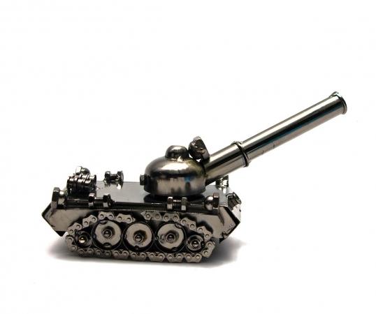 купить Техно арт танк металл 11Х23Х8,5 см цена, отзывы