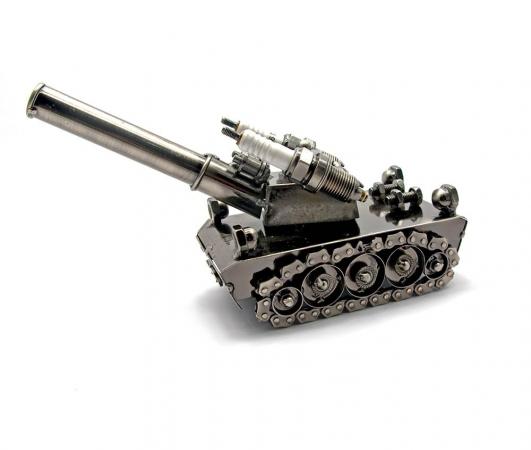 купить Техно арт танк металл 21Х11,5Х7,5 см цена, отзывы