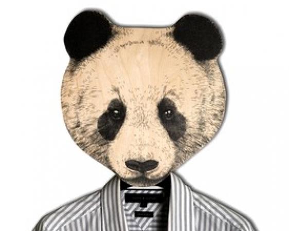 купить Вешалка Панда цена, отзывы